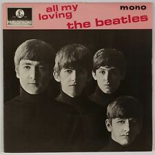 THE BEATLES: All My Loving UK Parlophone GEP 8891 EP 45 PS NM-
