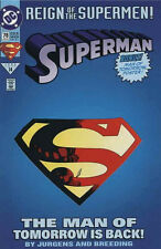 SUPERMAN REIGN OF THE SUPERMEN #12-15 1993 NEAR MINT DIE CUT COMPLETE SET OF 4