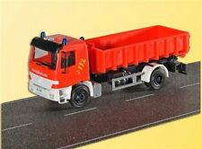 Kibri 18249 Fire Brigade Actros Dual Axis with Abrollsystem, Kit, H0