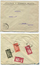 LEBANON, PH. A. MERHEB BEYROUTH, 1927, 4 STAMPS GRAND LIBAN     m