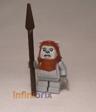 Lego Chief Chirpa Ewok from Sets 8038 Battle of Endor + 10236 Ewok Village sw236