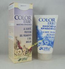 Natur COLOR ERBE Maschera Riparatrice 150ml x capelli secchi e danneggiati tinta