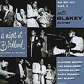 ART BLAKEY - A NIGHT AT BIRDLAND VOL 1 (2001 UK CD ALBUM) MINT CONDITION