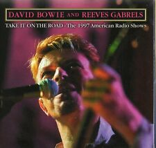DAVID BOWIE - TAKE IT ON THE ROAD (RADIO SHOWS 1997) - CD CARDBOARD SLEEVE