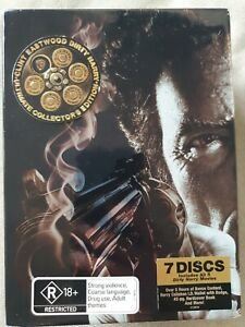 Clint Eastwood Dirty Harry Ultimate Collector's Edition (DVD, 7 discs, book)
