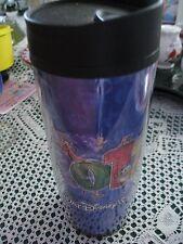 Walt Disney World Travel Cup Mug  2011 Mickey Mouse~ Donald Duck~ Goofy~ Pluto