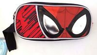 Marvel Spider-Man Kids Boy's Double Compartment Carry-On School Pencil Case NWT