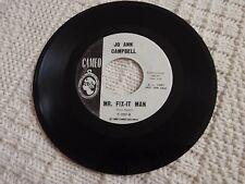 JO ANN CAMPBELL  MR FIX-IT MAN/LET ME DO IT MY WAY CAMEO 237 PROMO M-