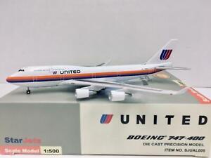 StarJets United Boeing 747-400 1:500 N185UA SJUAL005