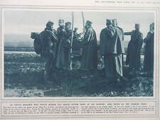 1916 KING PETER AT THE SERBIAN FRONT; SERBIAN RETREAT WWI WW1