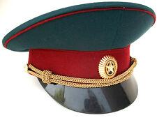 Original Russian Army Visor Hat Cap size 58 us  7 1/4