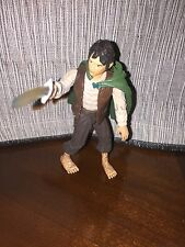 2002 Lotr Lord of the Rings Two Towers Movie Frodo Action Figure Hobbit