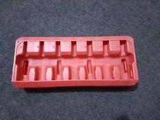 "Mac Tools sxma7pt-Rojo 3/8"" unidad destornillador hexagonal Allen Set Estuche Soporte"