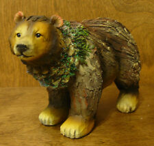 Wood Look #X1049C CHRISTMAS STANDING BEAR  from Transpac, NEW from Retail Store