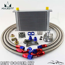 25 ROW OIL COOLER KIT FOR NISSAN Silvia S13 S14 S15 180SX 200SX 240SX SR20DET