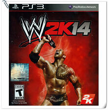 PS3 WWE 2K14 SONY PlayStation 2K Action Games