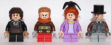LEGO Hobbit Lord of the ring - 4 Hobbit i cittadini di Contea-CUSTOM-solo LEGO