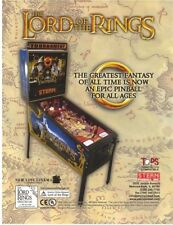 Lord Of The Rings Pinball FLYER Original NOS Stern 2003 Art Sheet Ready To Frame