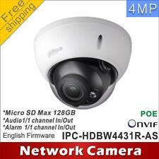 Dahua IPC-HDBW4431R-AS POE 4MP Micro SD 128G Alarm Audio Tri AXIS Dome IP Camera
