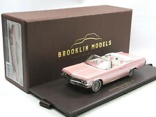Brooklin BRK 223P 1965 Chevrolet Impala Convertible Coupe Pink Collection 1:43