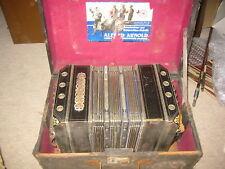 """old Concertina Bandoneon Bandonion Accordion """"ARNOLD"""" 30/28 Needs repair!"""