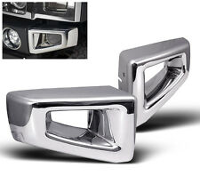 2003-2009 HUMMER H2 SUV SUT FRONT CORNER BUMPER COVERS TRIM CHROME SET L+R NEW