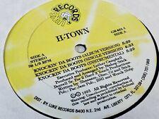 H-town Knockin da boots 12'' single vinyl record R&b hip hop soul 1993 luke