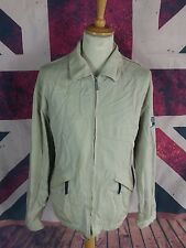 Q030 Rockport Mens Heavy Cotton Casual Cream Traveller Jacket, XL