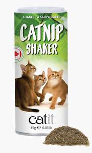 Catit Senses 2.0 Catnip Shaker 100% Dried Canadian Catnip 0.53 oz