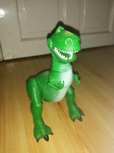 "Disney Pixar Toy Story 7"" Poseable Rex Action Figure Excellent Condition"