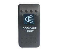 12v/24v Blue DOG CAGE LIGHT Rocker Switch ON/OFF for NARVA Carling ARB style
