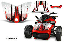 AMR Racing CanAm F3-S Spyder Hood Graphic Kit Wrap Roadster Sticker Decal CBNX R