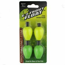 Leland Lures 87670 E-z Trout Float 4 Slotted Floats