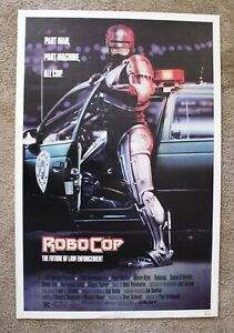 ROBOCOP (1987) ORIGINAL MOVIE POSTER SINGLE-SIDED 27x41