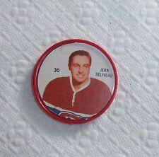 Shirriff / Salada coins hockey 1960-61 #30 Jean Beliveau Canadians lot SB