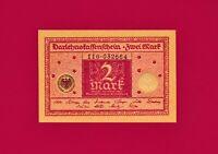 SCARCE (in UNC Grade) 2 MARK DARLEHNSKASSENSCHEIN 1920 Germany UNC Banknote P-59