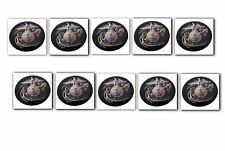 10 Premium Marines Automotive Grade Glossy Domed Decal Sticker Emblems 3/4 inch