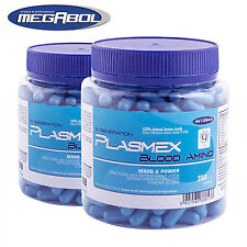 Plasmex 350 Capsules Animal Blood BCAA + Essential Amino Acids Anabolic Booster