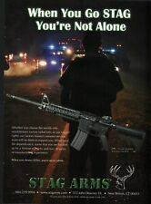 2008 STAG ARMS 2TL Rifle PRINT AD Gun Advertising Page
