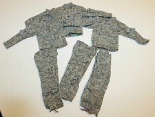 "1/6 Scale ACU uniform military to be used with 12""  inch action figure x3"