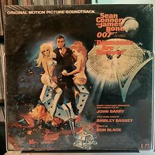 Diamonds Are Forever 007 James Bond John Barry SEALED Soundtrack OST Rare!