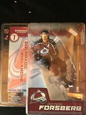 PETER FORSBERG Colorado Avalanche McFARLANE'S LEGENDS 2003 NHL  MIP Series 1