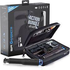 B00mc7665c-sp Gadgets Action Bundle POV Case and Pole 19 inch - Black