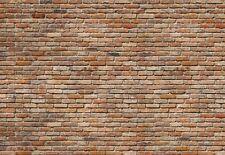 Foto gigante papel tapiz de pared de ladrillo rojo 368x254cm Mural Hogar Decoración Sala de Estar