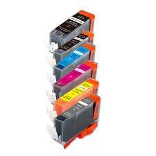 6 PK Printer Ink Set + chip fits Canon PGI-225 CLI-226 MG6120 MG6220 MG8120