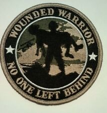 """Wounded Warrior No One Left Behind Patch  4"""""""