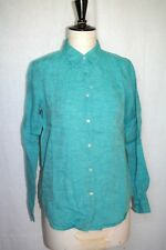 chemise - liquette - sur-chemise  femme UNIQLO  lin - vert d'eau - 36-38 - neuf
