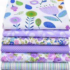6pcs Tela Tejido de algodón costura ropa bebé paño de bolsos caja almohada KGH