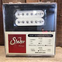Suhr SSV Humbucker Guitar Pickup, Neck Position, 50mm Spacing, Parchment