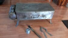 Early Antique Portable Camp Stove Camping Air Pressure Tank Rare Estate Find